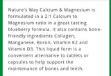 Nature's Way Calcium & Magnesium Citrate 2:1
