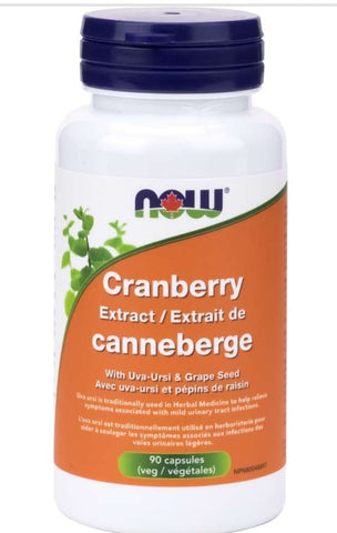 Now Cranberry with Uva-Versi and grape seed