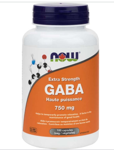 Now GABA 750 mg extra strength