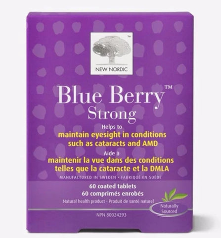 New Nordic Blue Berry Strong 120cap