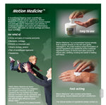 Motion Medicine All Natural Topical Pain Remedy