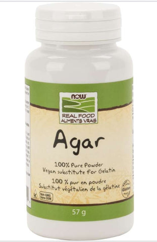 Now Agar Powder 57g
