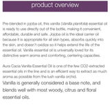 Aura Cacia Vanilla in Jojoba Oil 15ml