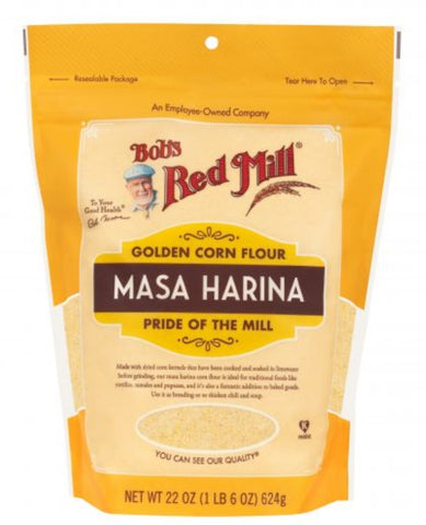 Bobs Red Mill Organic Golden Corn Flour Masa Harina