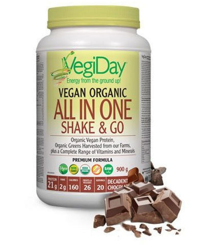 VegiDay Chocolate Vegan All In One Nutritional Shake 900g