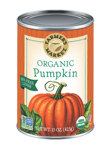 Farmers Market Organic Pumpkin Puree 398ml