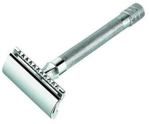 Merkur 23C Double Edge Safety Razor Chrome Long Handle