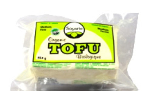 La Soyarie Organic Medium Firm Tofu 454g