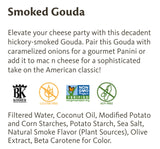 Earth Island Smoked Gouda Style Slices 10