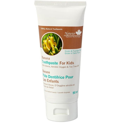 Banana Toothpaste for Kids