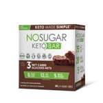Vegan Pure No Sugar Keto Bar - Chocolate Fudge Brownie