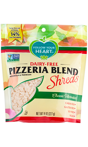 Earth Island Dairy-free Pizzeria Blend Shreds