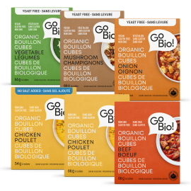 Go Bio! No Salt Chicken Bouillon Cubes