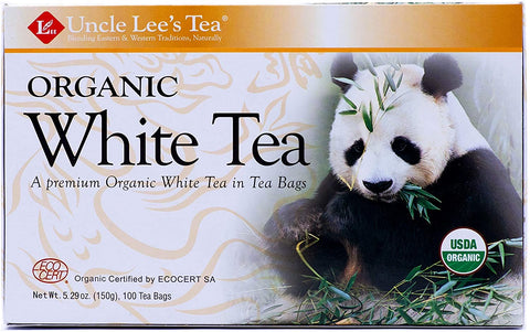 Uncle Lee's Organic White Tea 100bag