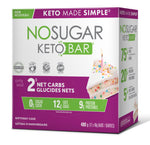 Vegan Pure No Sugar Keto Bar - Birthday Cake