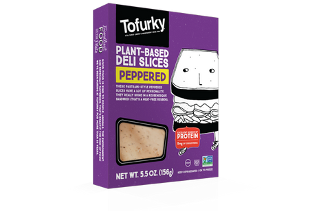 Tofurky Peppered Plant-based Deli Slices