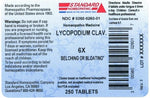 Standard Homeopathic Lycopodium Clav