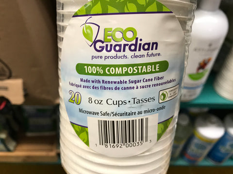 Eco Gardian compostable cups
