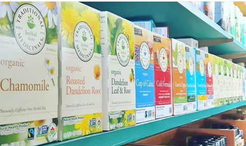 Traditional Medicinal Organic Tea's