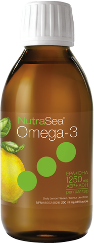 NutraSea Omega 3 Lemon 200ml