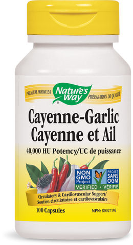 Nature's Way Cayenne-Garlic
