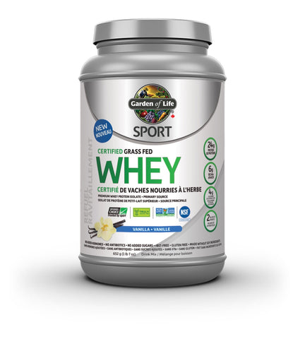 Garden of Life Grass Fed Whey
