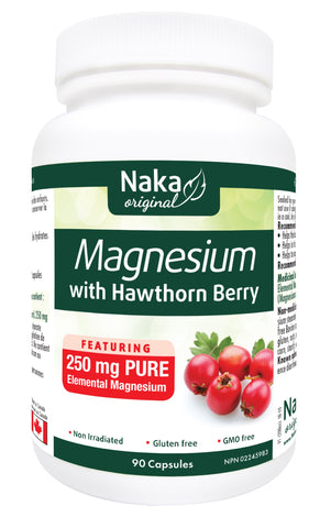 Naka Magnesium with Hawthorn Berry