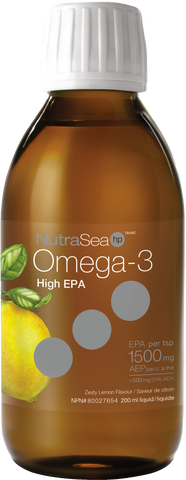 NutraSea Omega 3 extra strength 200ml