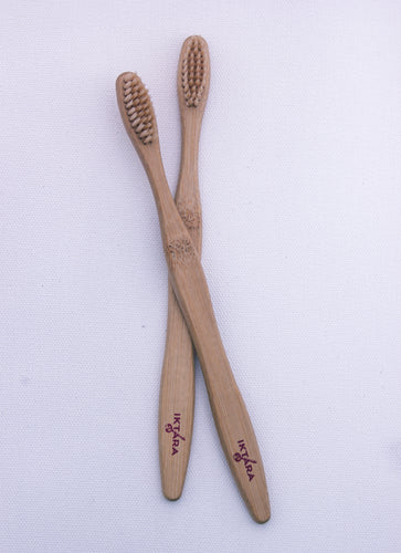 Adult Bamboo Toothbrush (Set of 2)