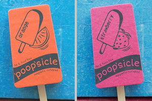 HANDMADE PAPER (ELEPHANT (POO PAPER) MAGNETIC NOTEPAD
