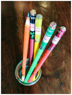 Plantable Pencils - Eco friendly paper pencils with seeds.