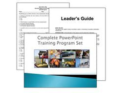 25 PowerPoint Safety Training Program Set On DVD Volume 1