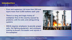 OSHA General Industry: Exit Routes, Emergency Action Plans, Fire Prevention Plans, and Fire Protection