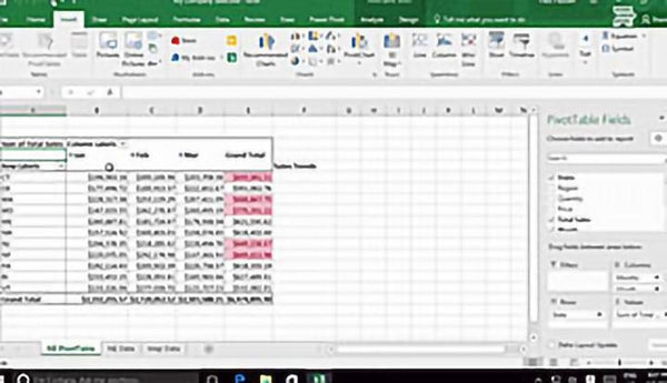 Microsoft Excel 2016 Level 3.5: Creating Sparklines and Mapping Data - Training Network