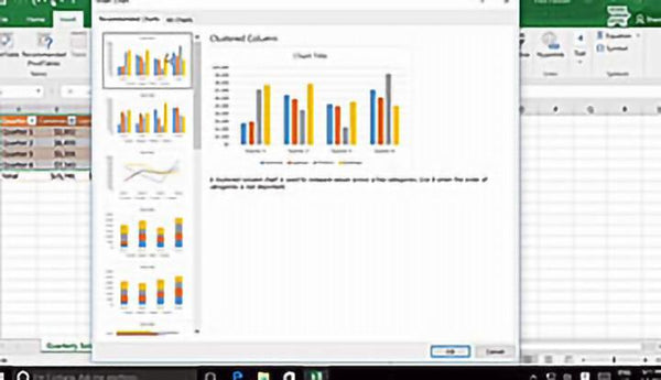 Microsoft Excel 2016 Level 2.4: Visualizing Data with Charts - Training Network