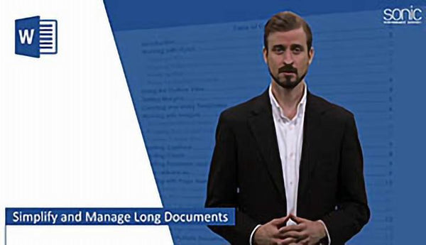 Microsoft Word 2016 Level 2.6: Simplifying and Managing Long Documents - Training Network
