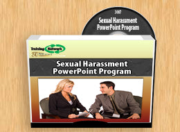 Sexual Harassment PowerPoint Training Program - Training Network