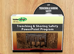 Trenching & Shoring Safety PowerPoint Training Program - Training Network