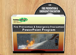 Fire Prevention & Emergency Evacuation PowerPoint Training Program