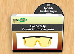 Eye Safety PowerPoint Training Program - Training Network