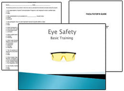 Eye Safety PowerPoint Training Program
