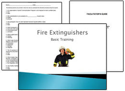 Fire Extinguisher PowerPoint Training Program - Training Network