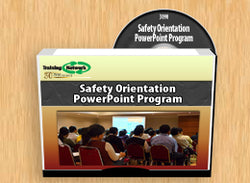 Safety Orientation PowerPoint Training Program - Training Network