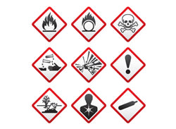 Hazardous Material Labels - Training Network
