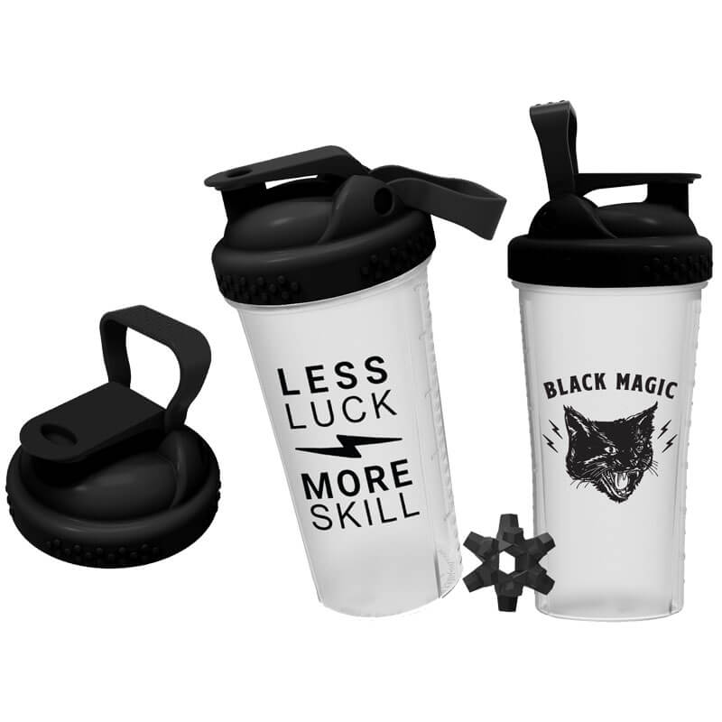 Black Magic Supply Less Luck, More Skill Shaker Cup