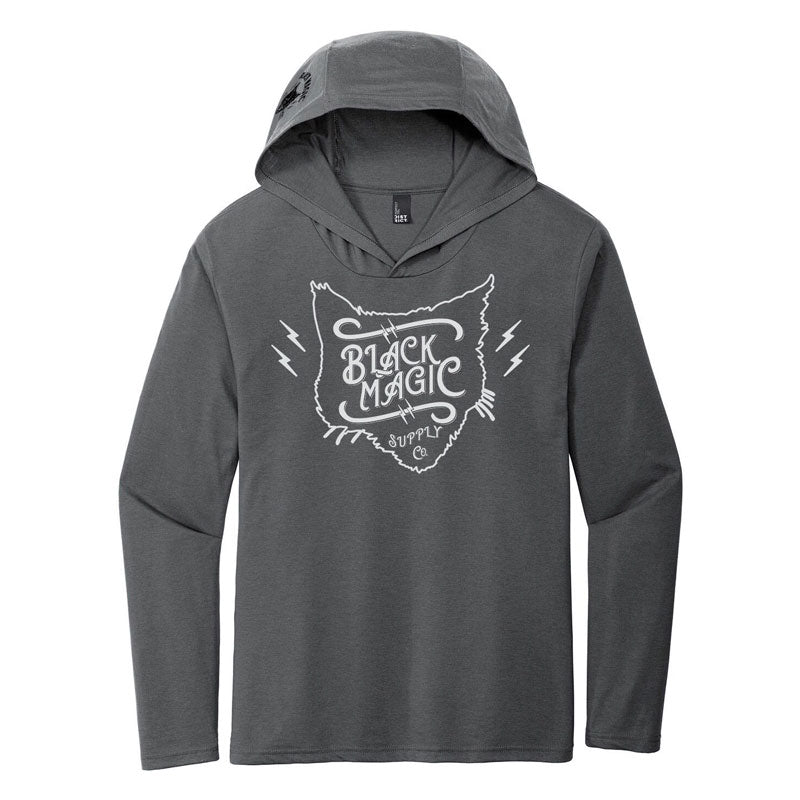 Limited Edition Grey Black Magic Supply Training Hoodie