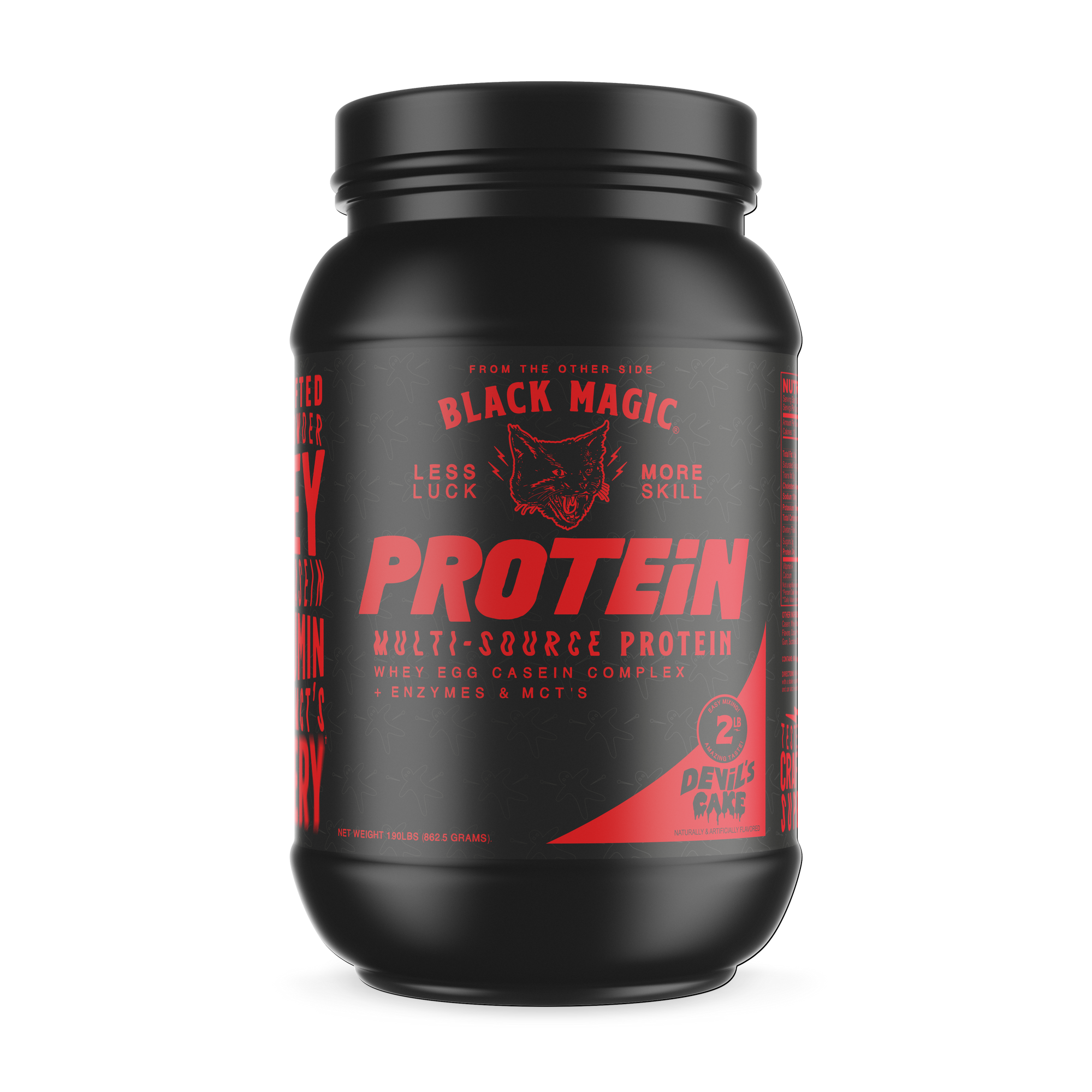 Limited Edition Devils Cake Black Magic Supply Handcrafted Multi-Source Protein 2lb