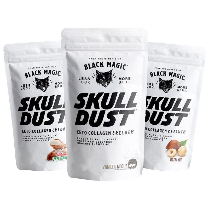 Skull Dust Keto Collagen Creamer Sample Pack - 3 Servings (FREE SHIPPING)