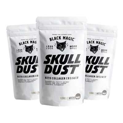 Skull Dust Keto Collagen Creamer- Sample (3 Servings)