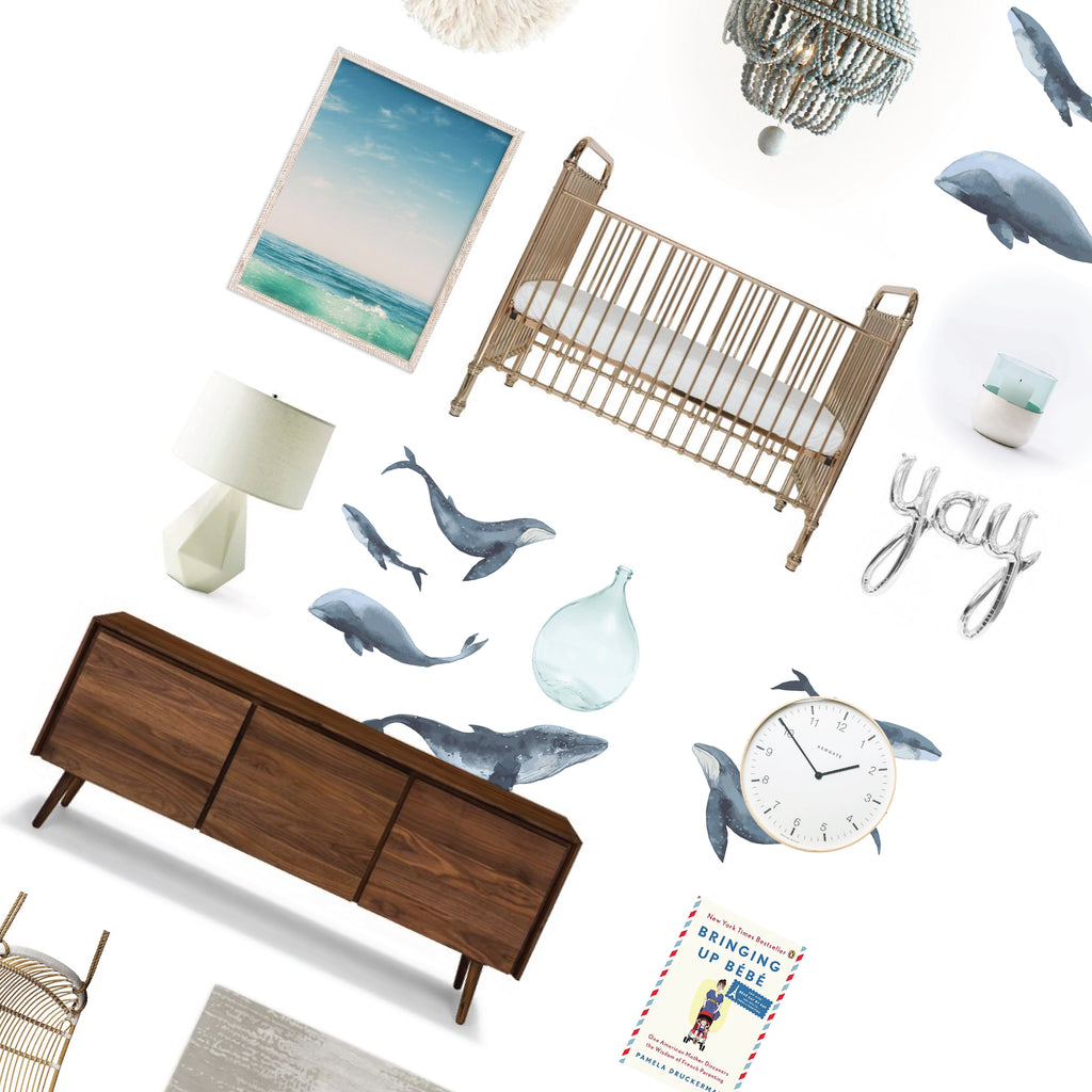 Decor Inspiration Board | Whales